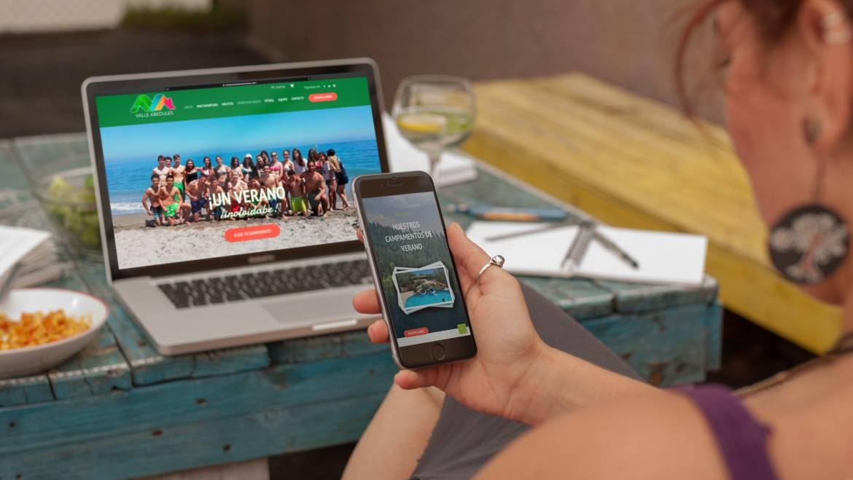 ¿Conoces nuestra nueva web de campamentos?