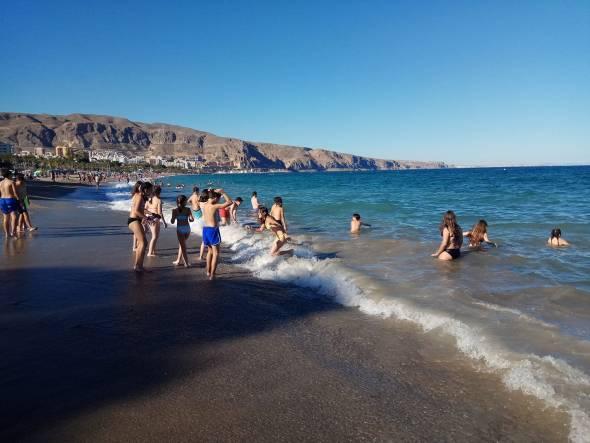 Beneficios del mar en los niños